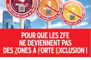 Zones à Faibles Émissions ou Zones à Forte Exclusion?